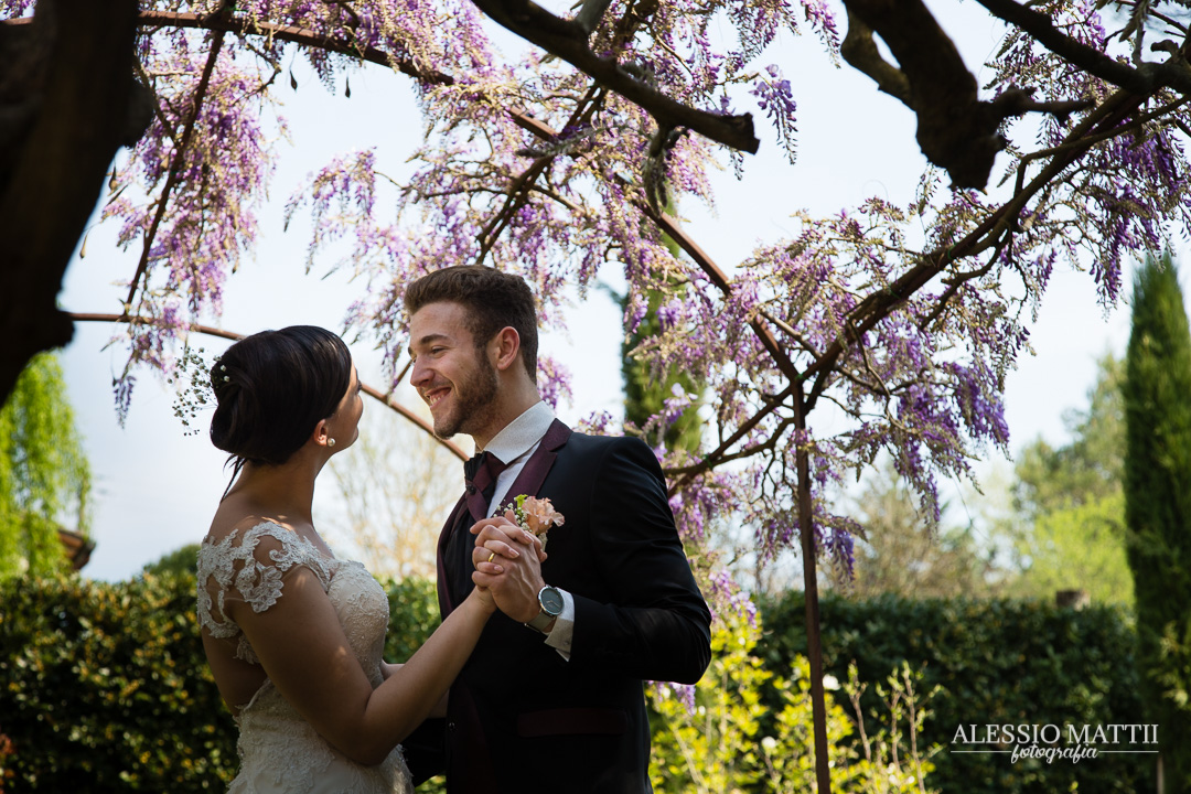 Coppia sposi matrimonio Firenze Montaione - fotografo matrimonio Toscana
