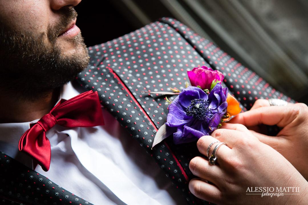 Preparativi sposo matrimonio country firenze montaione - fotografo matrimonio Toscana