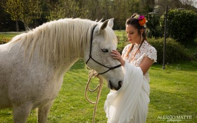 Un matrimonio country in Toscana