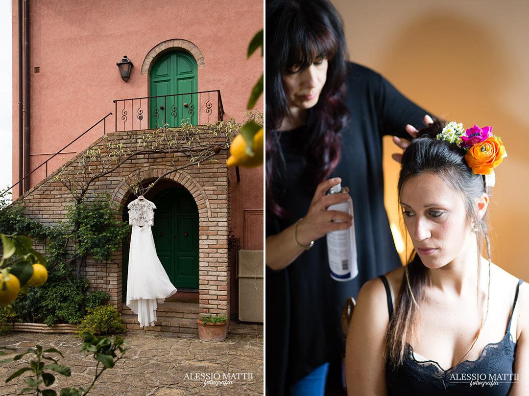 Abito e sposa country in Toscana - Alessio Mattii Fotografo matrimonio toscana
