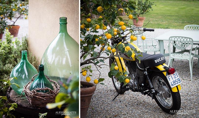 Ducati e vintage matrimonio country in Toscana - Alessio Mattii Fotografo matrimonio toscana