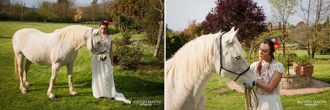 Cavallo matrimonio country in Toscana - Alessio Mattii Fotografo matrimonio toscana