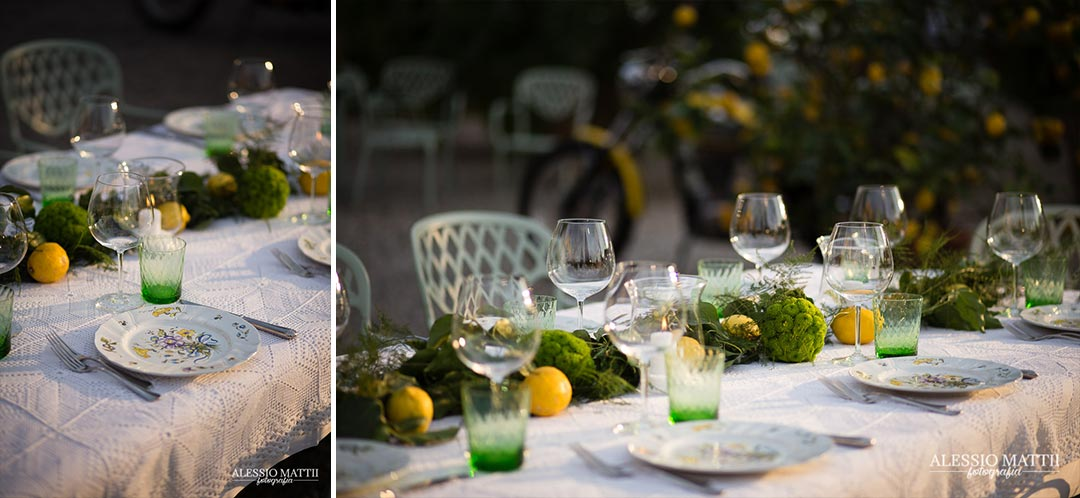 Tavolo matrimonio country in Toscana - Alessio Mattii Fotografo matrimonio toscana