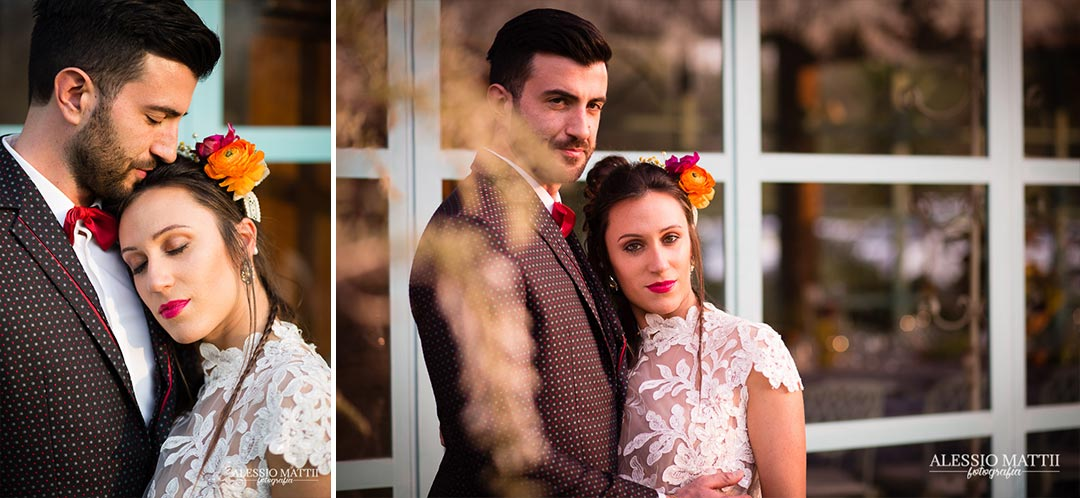 Coppia matrimonio country in Toscana - Alessio Mattii Fotografo matrimonio toscana