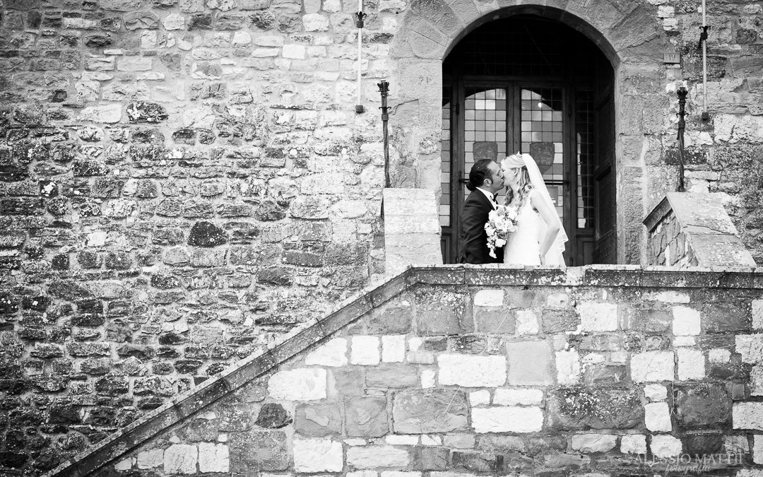 Castellina in Chianti – Scatti al matrimonio di Francesco e Claudia
