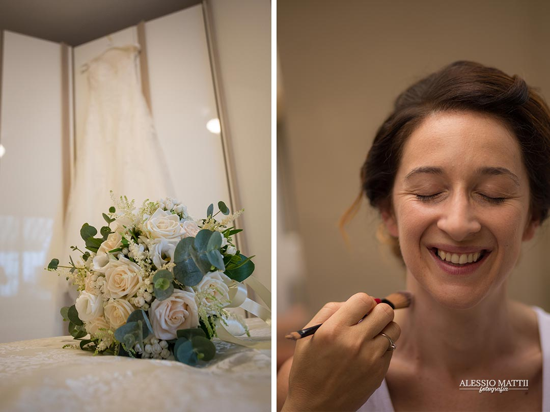 Preparativi sposa Livorno - fotografo matrimonio livorno