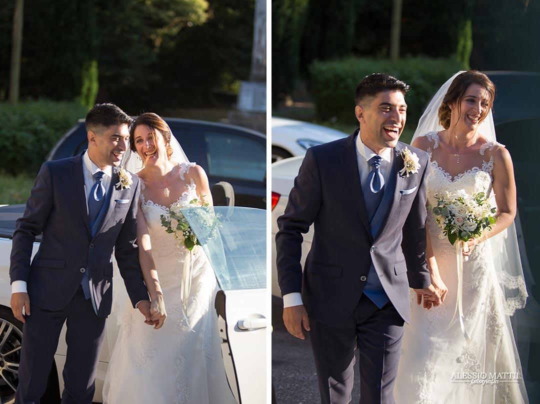 Brindisi sposi in location matrimonio in campagna Firenze - fotografo matrimonio Firenze