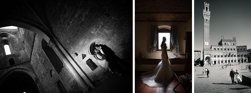 Fotografo matrimonio Toscana - reportage preparativi sposa Siena