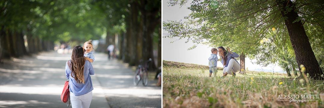 fotografo bambini e famiglia Lucca - mura di Lucca Toscana