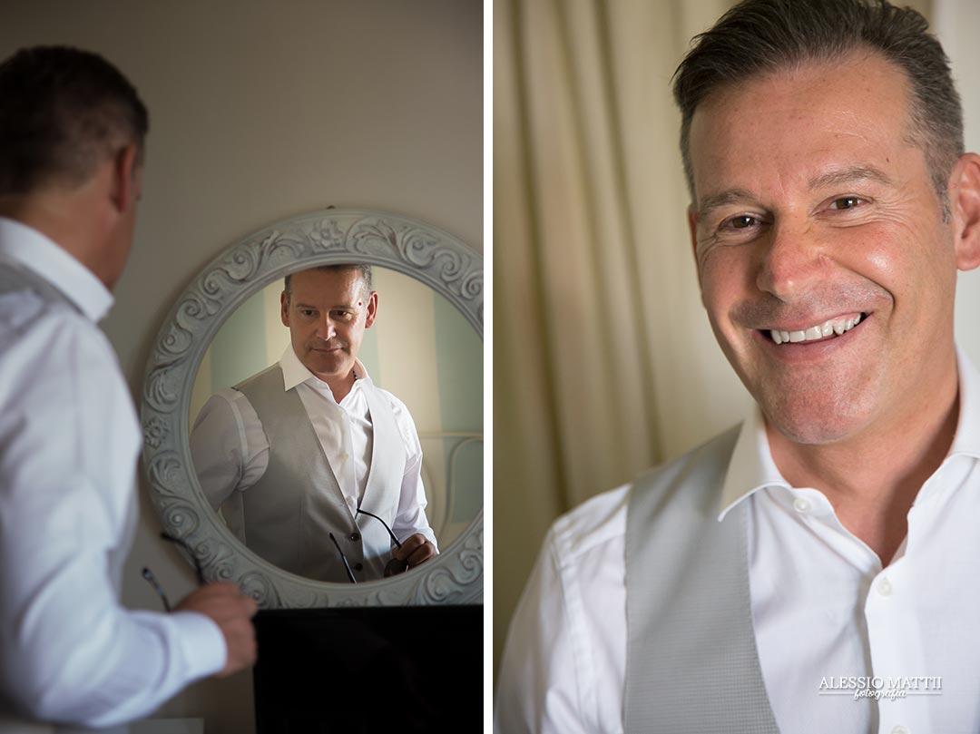 Dettaglio anelli fedi e riso - fotografo matrimonio livorno