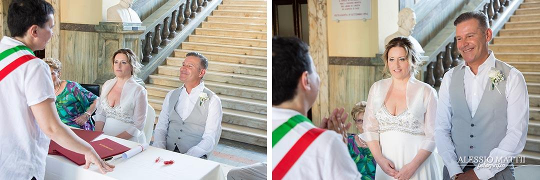 Arrivo della sposa in Chiesa del Sacro Cuore a Livorno - fotografo matrimonio livorno