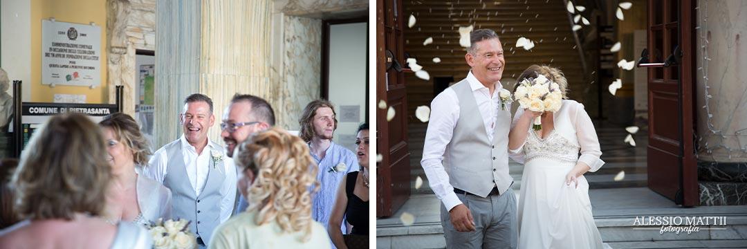 Fedi anelli durante la celebrazione - fotografo matrimonio livorno