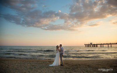 Un matrimonio in spiaggia a Marina di Pietrasanta – Fotografo matrimonio Versilia